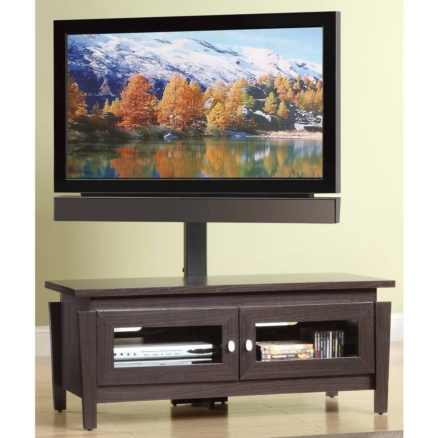 Whalen Tv Stand With Swinging Mount For Tvs Up To 50 Walmart Com