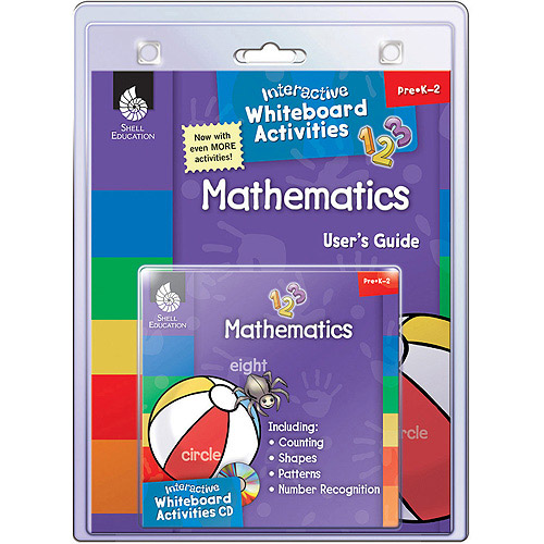 Shell Education Interactive Whiteboard Activities - Mathematics, Grades Prek To 2
