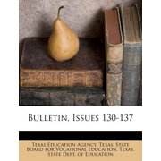 Bulletin, Issues 130-137