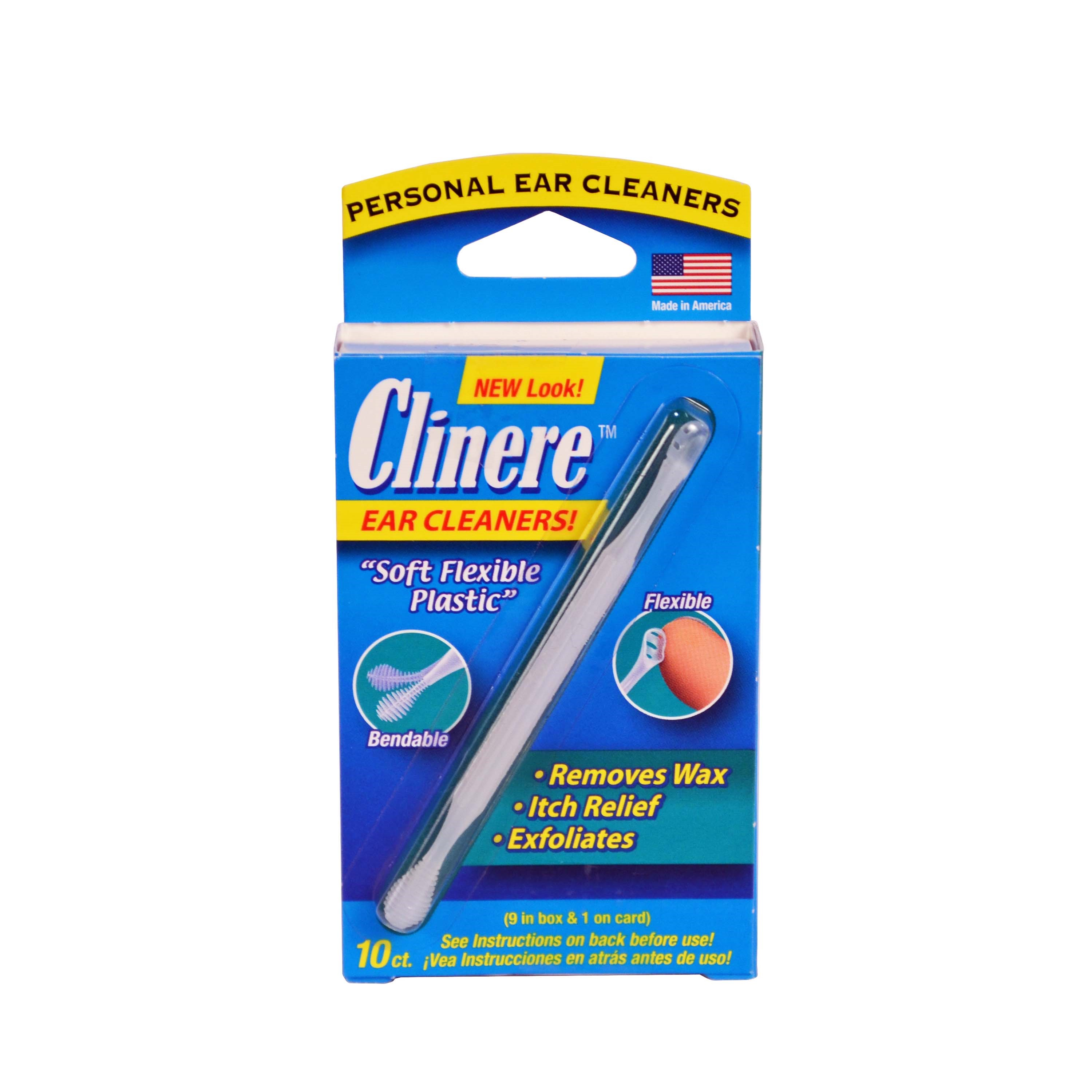 Clinere Ear Cleaners, 10 Ct