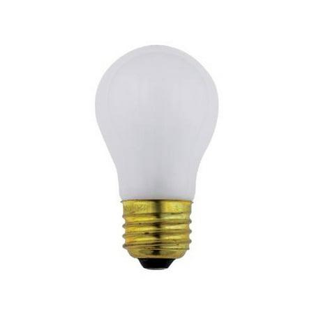 SUNLITE 60w A15 130v Medium Base Frost Appliance Light Bulb 130v A15 Light Bulb