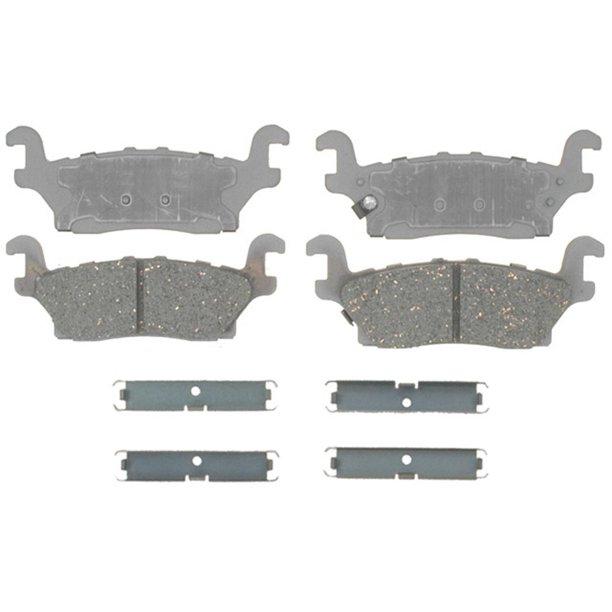 what is better semi metallic or ceramic brake pads