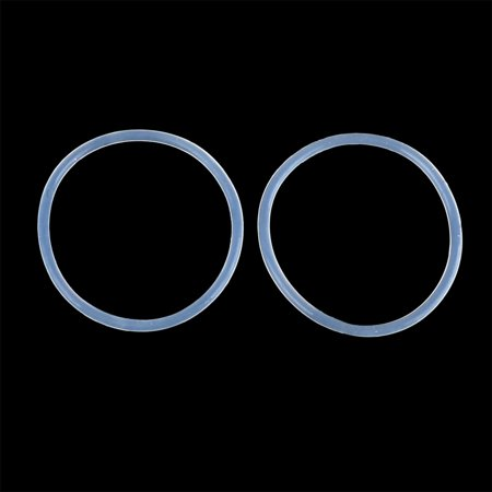 50pcs White Silicone Rubber O-Ring Seal Gasket Washer 27 x 1.5mm for Car - image 3 of 4