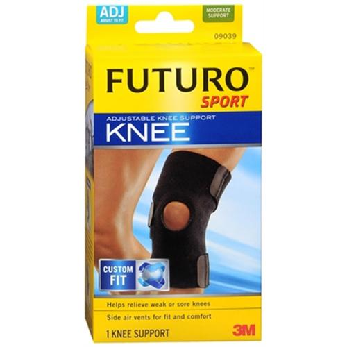 FUTURO Sport Knee Support Adjustable 1 ea (Pack of 4)