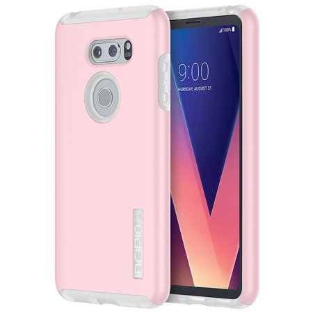 pretty nice 82568 fa1a4 LG V30 Incipio DualPro Case - Rose Quartz & Frost