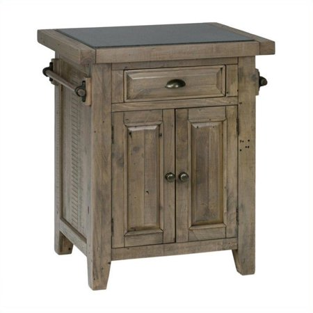 Jofran 941 Small Kitchen Island With Granite Top In Slater