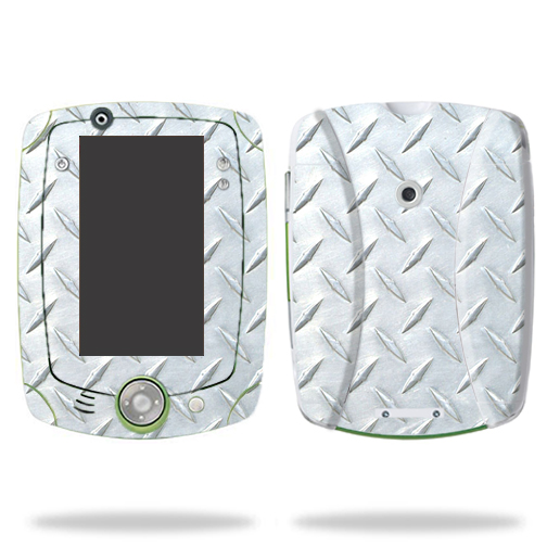 Mightyskins Protective Skin Decal Cover for LeapFrog LeapPad2 Explorer Learning Tablet wrap sticker skins Diamond Plate