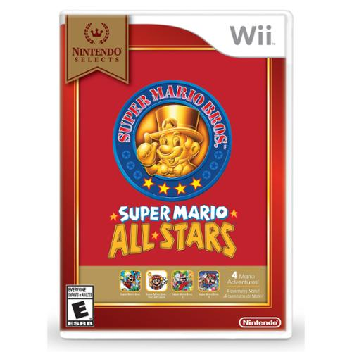 Nintendo Super Mario All-stars - Games Collection - Wii (rvlpsvm2)