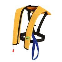 Lifesaving Pro® Automatic / Manual Inflatable Life Jacket Lifejacket PFD Floating Life Vest Inflate Survival Aid Lifesaving PFD Basic Blue Color
