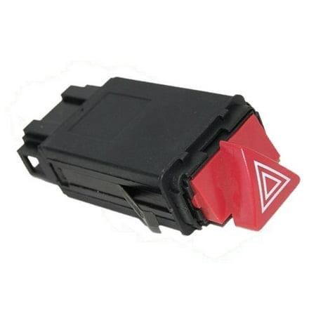 HQRP Hazard Warning Lights Switch for Audi 4B0941509KB98 / 4B0-941-509-K-B98 / A6 Quattro 1999 2000 2001 2002 2003 2004, Allroad Quattro 2.7L 2001 2002 2003 2004 2005, S6 2002 / - Audi Warning Lights