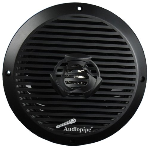 "Audiopipe APSW-8532BK 8"" 350 WATT 2-WAY COAXIAL ATV MARINE SPEAKER BLACK"