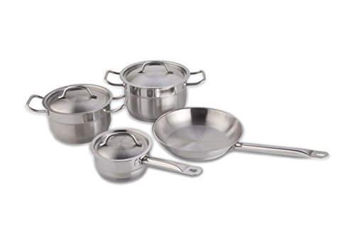 BergHOFF Hotel Line 7-Piece Stainless Steel Cookware Set by BergHOFF