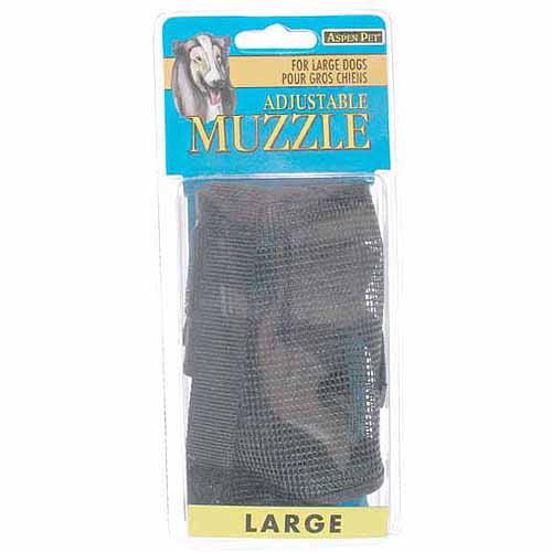 Petmate Doskocil Co. Inc. Large Black Adjustable Dog Muzzle™