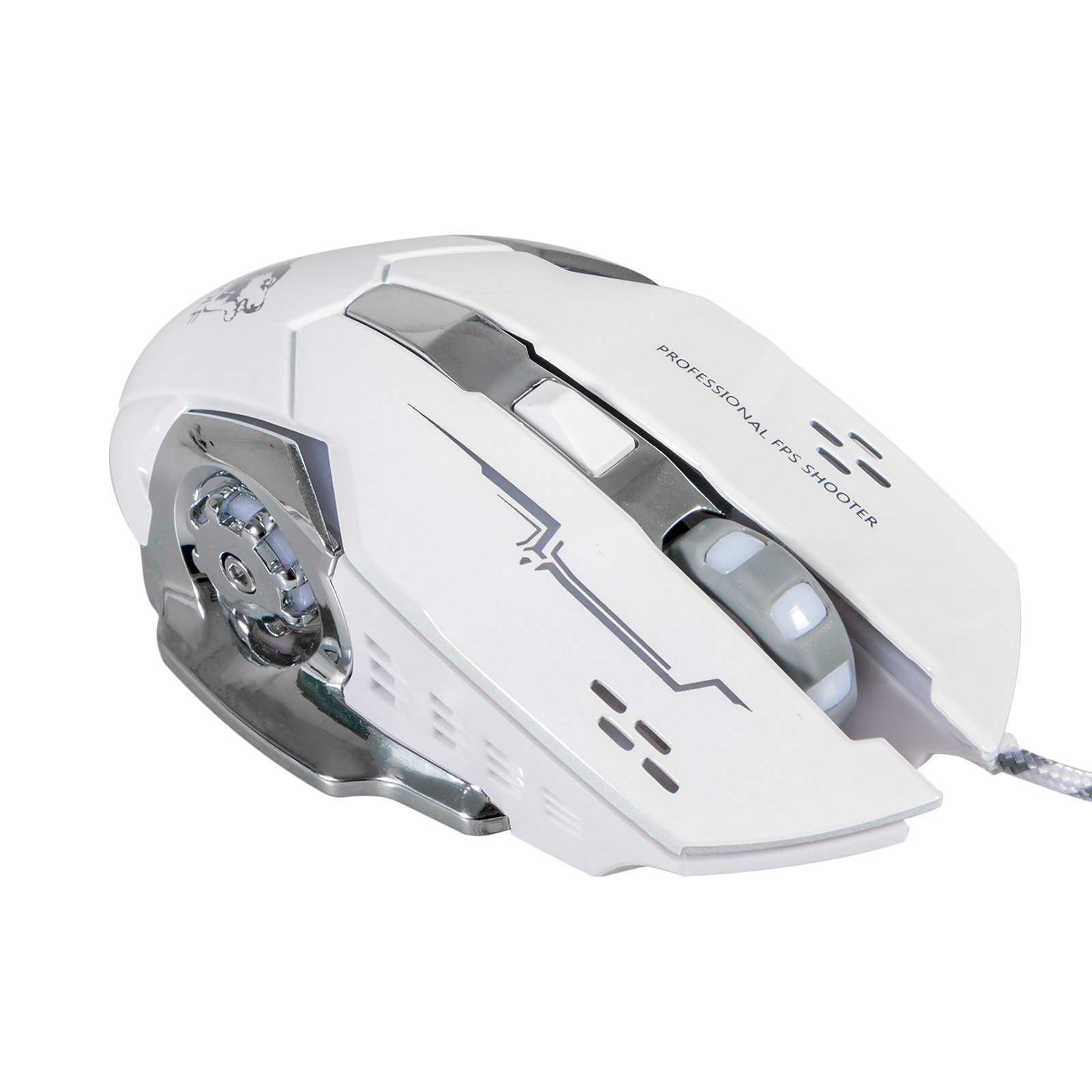 Adjustable 2400DPI Wired Optical USB Game Gaming Mouse, LED Ergonomic Mice, for PC Laptop Computer
