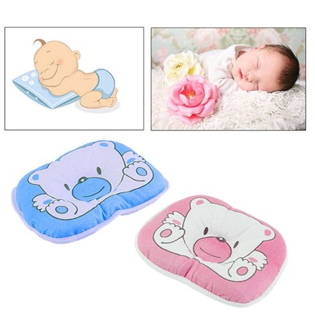 Bear Pattern Pillow Newborn Infant Baby Support Cushion Pad Prevent Flat Head Newborn Infant Baby Cute - image 5 de 5