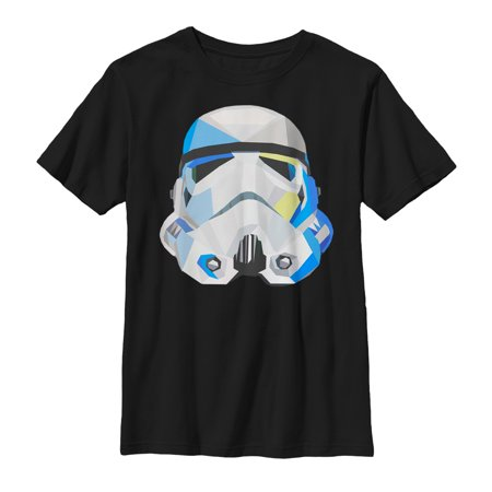 Cheap Stormtrooper Helmet (Star Wars Boys' Geometric Stormtrooper Helmet)