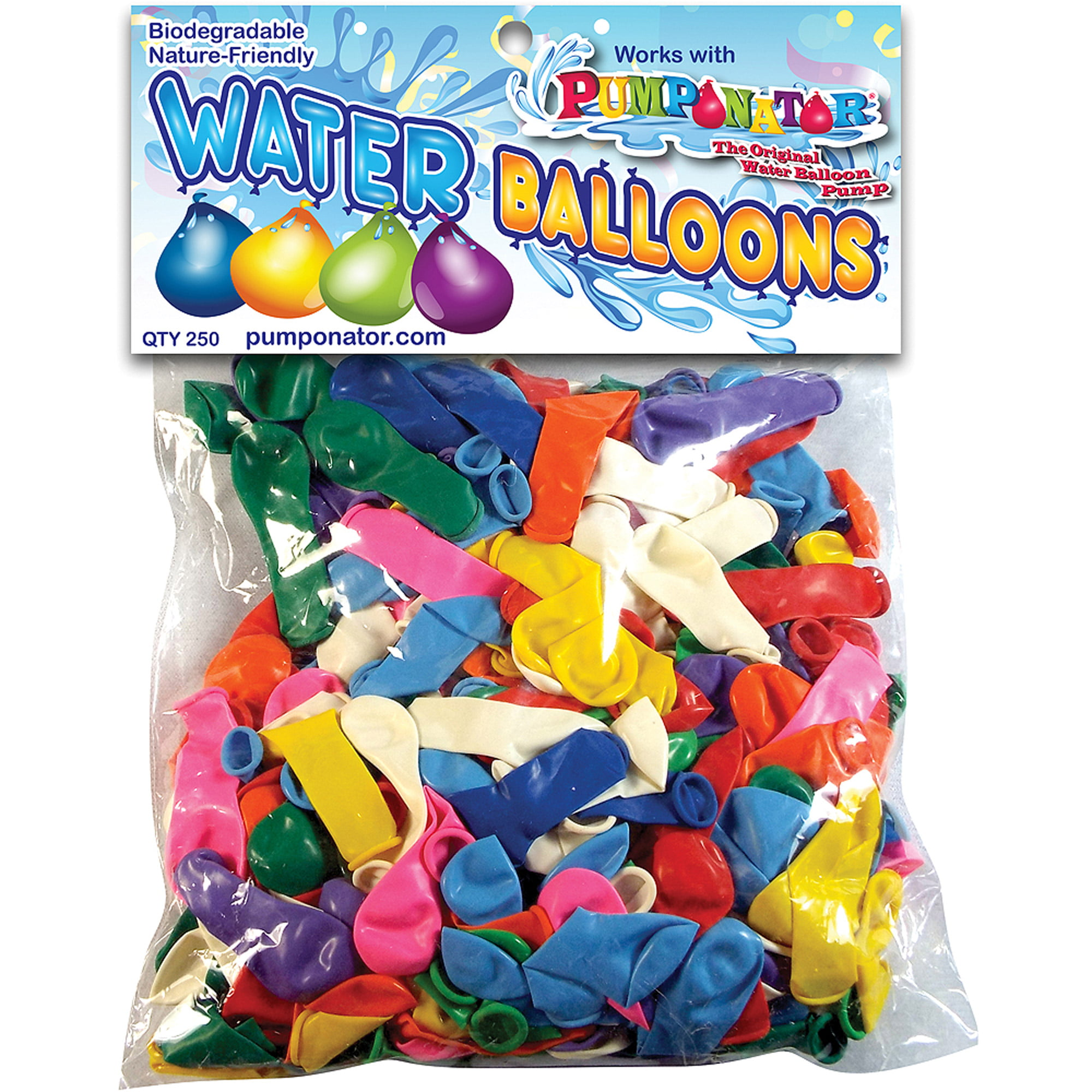 Where can you buy balloon arch kits in delaware - Pumponator 250 Biodegradable Water Balloons