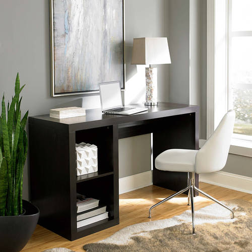 Elegant Better Homes And Gardens Cube Organizer Desk, Multiple Finishes    Walmart.com Home Design Ideas