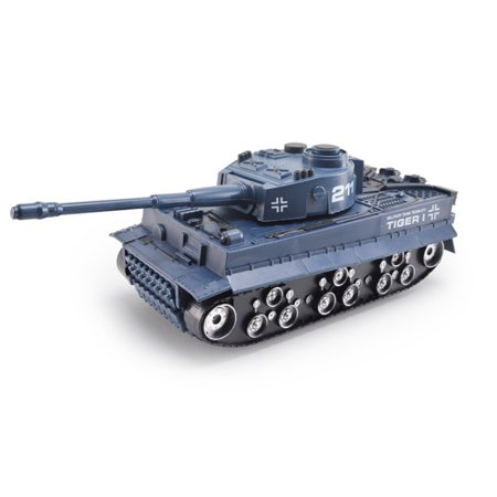 Inertial Simulation Battle Tank Toys with Flashing and Sound 1:32 Scale Military Tank Model Pull Back Toy for Kids Blue (Main Battle Tank Scale)