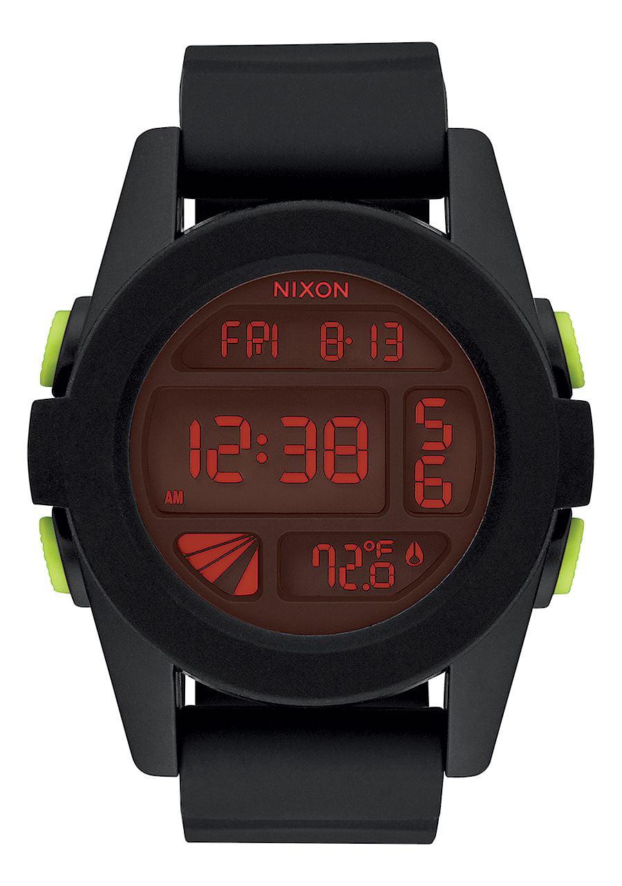 Nixon Digital Sport Silicone Mens Watch A197760
