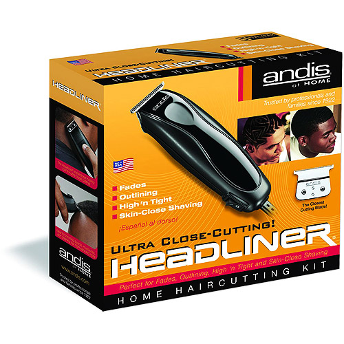 Andis Headliner 11 Piece Home Hair Cutting Kit