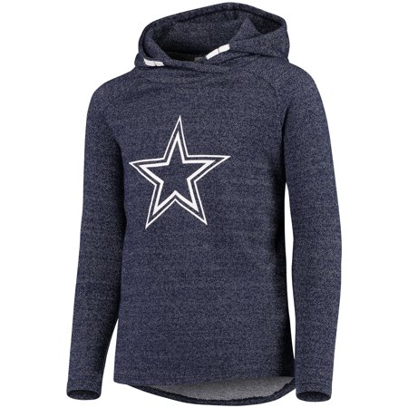 Girls Youth Navy Dallas Cowboys Jetti Pullover Hoodie
