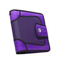 Strap Binder with Tab File, O-Ring, 2 in. - Purple