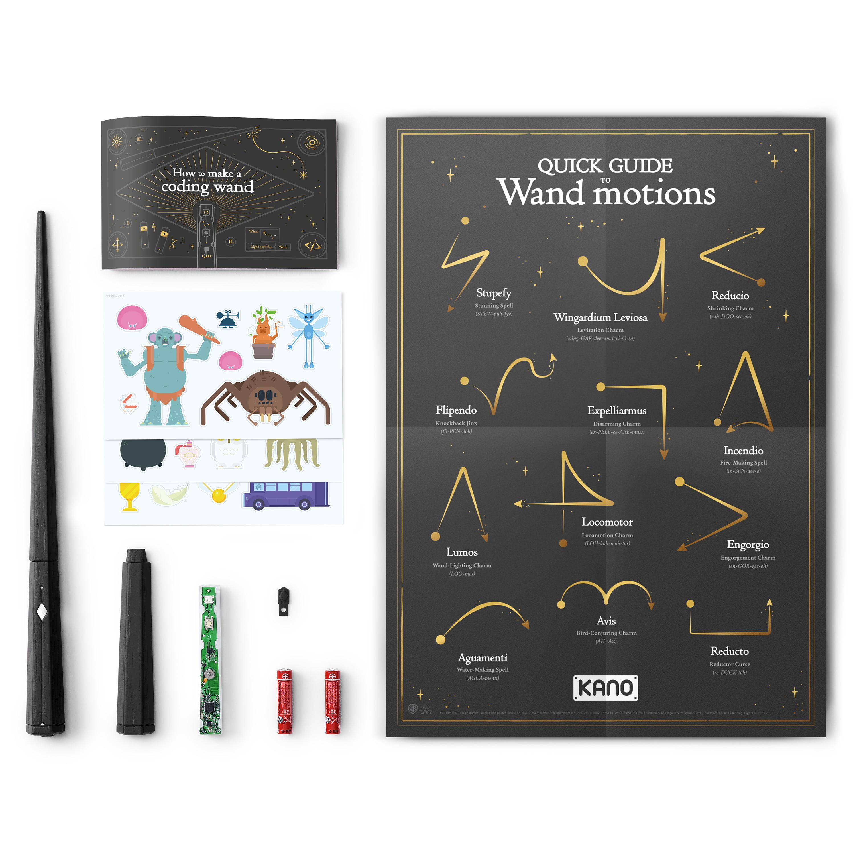 de67eb742 Harry Potter Kano Coding Kit - Build a wand. Learn to code. Make magic -  Walmart.com