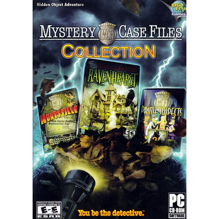 Mystery Case Files (Collection of 3 Games) - Ravenhearst, Huntsville & Prime