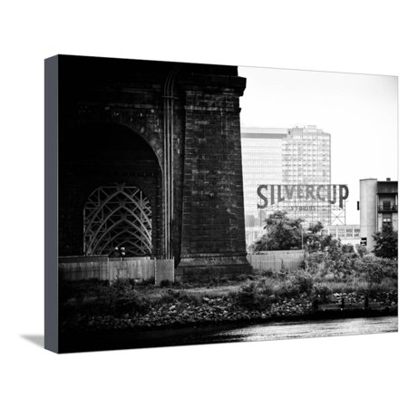 Silvercup Studios, Roosevelt Island for the Ed Koch Queensboro Bridge, Long Island City, New York Stretched Canvas Print Wall Art By Philippe - Party City Long Island City