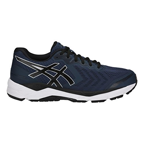 c5e6ae40bb Asics Men's Gel-Foundation 13 Running Shoes (16 EEEE US, Dark  Blue/Black/White)