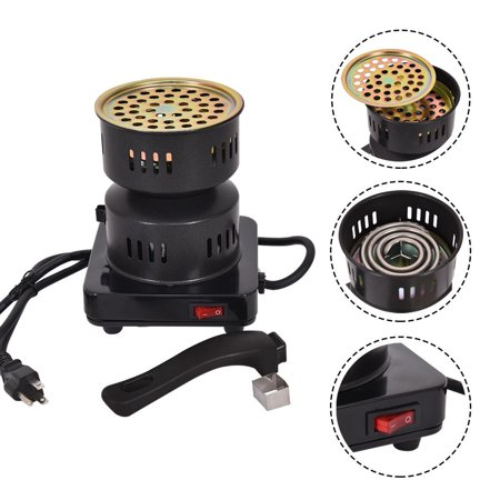 Electric Coal Starter Heater Stove Charcoal Burner BBQ
