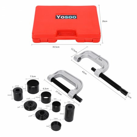 Yosoo 4 IN 1 Ball Joint Service Kit New Auto Press 4WD 4 Wheel Drive Adapters (Best Reloading Press Kit)