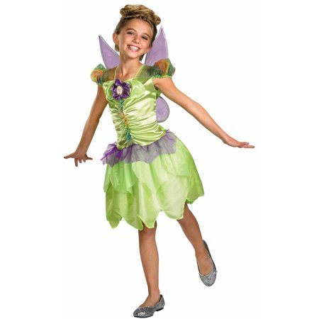 Tinkerbell Sequin Costume (Tinker Bell Rainbow Child Halloween)