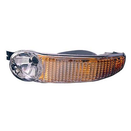 2001-2001 GMC Sierra C3  Driver Left Under Head Lamp Parking and Signal Lamp Assembly 15199554-V