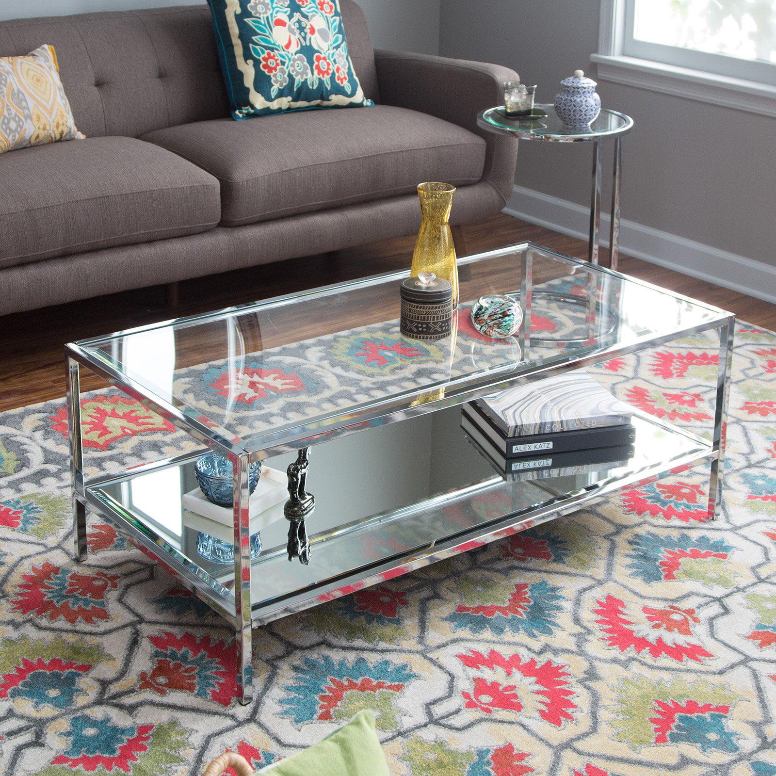 Belham Living Lamont Coffee Table - Chrome