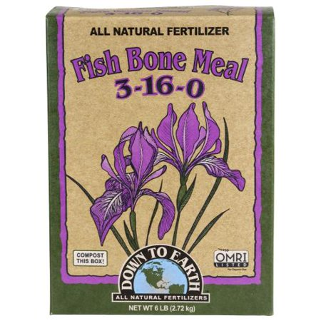 Fish Meals - down to earth fish bone meal - 6 lb
