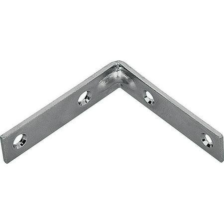 Mintcraft CB Z10 013L Corner Brace 10 in L Zinc Plated per 5 EA
