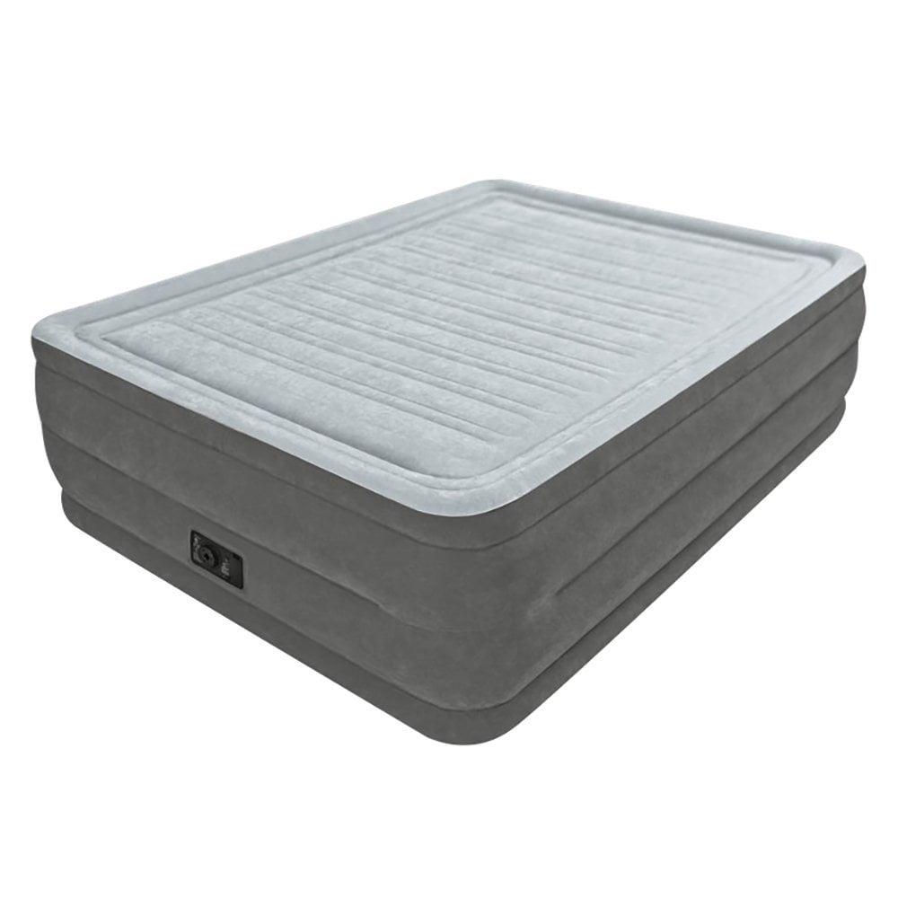 Intex Recreation Comfort Plush Elevated Dura-Beam Airbed,...