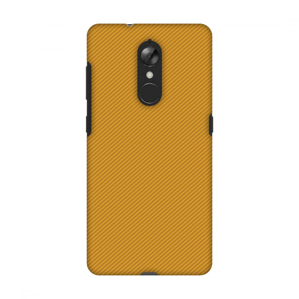Lenovo K8 Case, Premium Handcrafted Printed Designer Hard Snap on Shell Case Back Cover with Screen Cleaning Kit for Lenovo K8 - Carbon Fibre Redux Desert Sand 16