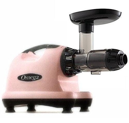 Omega Pink J8006 Juicer Juice Extractor