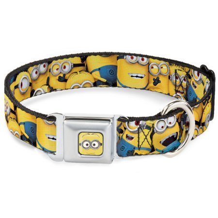 Dog Collar DSA-Minion Dave Face CLOSE-UP Full Color - Despicable Me Minions Pet Collar