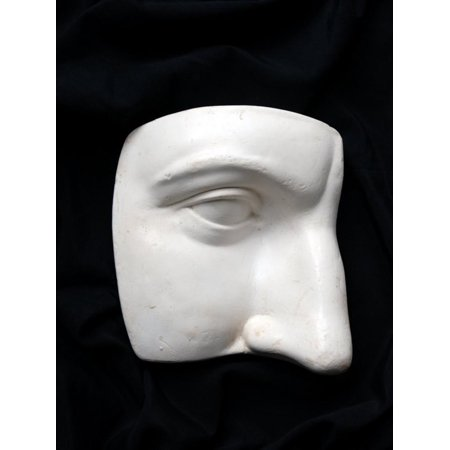 Pirate Face Cut Out (A Cut Out of a Sculpture Including a Man's Face Print Wall Art By Winfred)