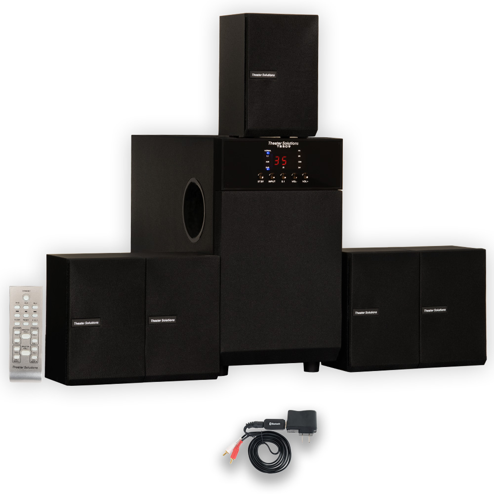 Theater Solutions Ts509 Home Theater 5 1 Powered Speaker