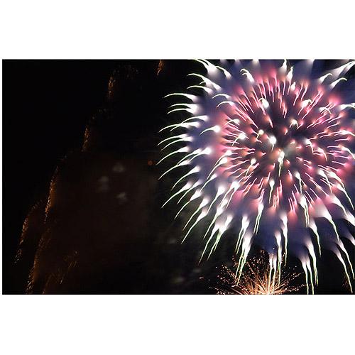 """Trademark Art """"Abstract Fireworks V"""" Canvas Art by Kurt Shaffer"""