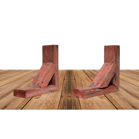 3 1 2 W x 8 D x 12 H Vintage Farmhouse Bracket Barnwood Decor Collect