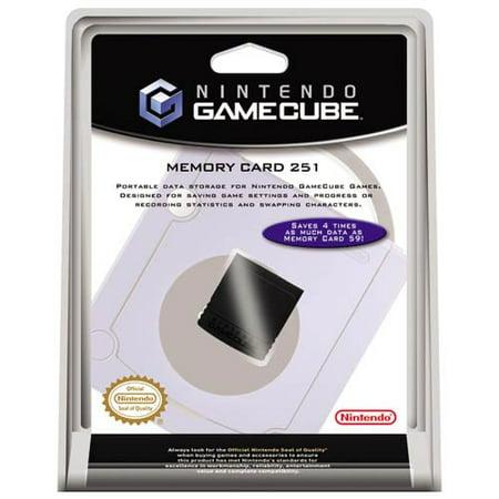- Gamecube Memory Card 251