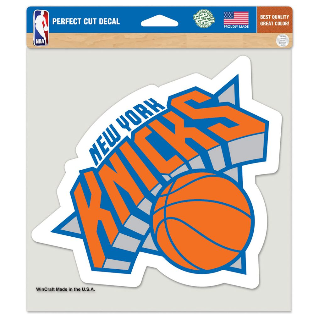 "New York Knicks Die-cut Decal - 8""x8"" Color"