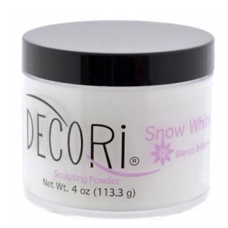 4 oz Professional Acrylic Adoro decori SNOW WHITE 3d french compare mia secret+ Free Temporary Body Tatoo!