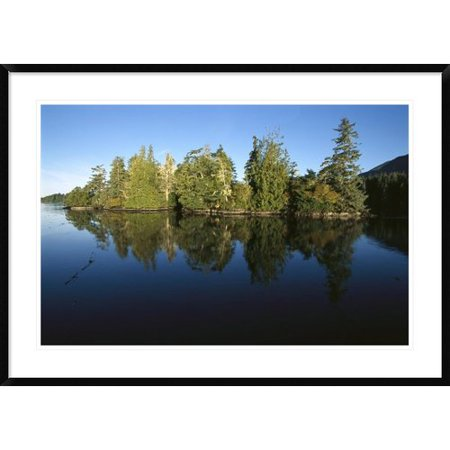Global Gallery Clayoquot Sound  Vancouver Island  British Columbia  Canada Framed Photographic Print